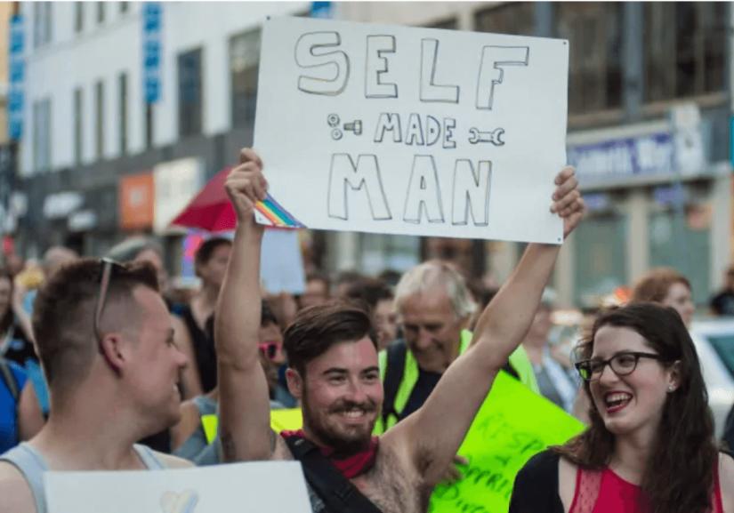trans gender march